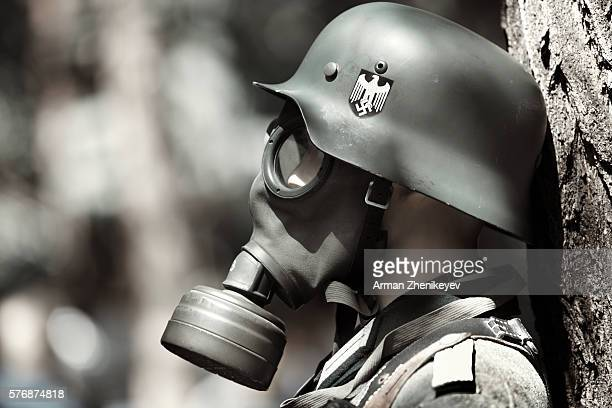 german soldier - nazi swastika stock pictures, royalty-free photos & images