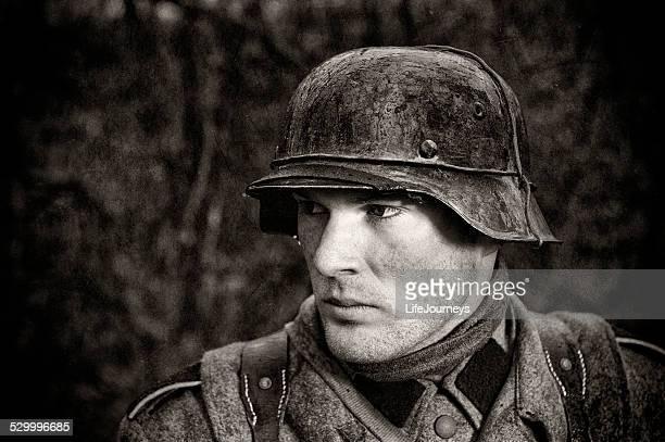 German Soldier - WWII - Portrait