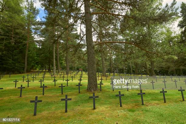 german soldiers' cemetery hohrod 1914-1918 - world war one stock pictures, royalty-free photos & images