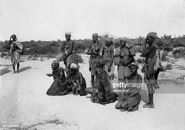 German SouthWest Africa Herero women probably in the 1910s