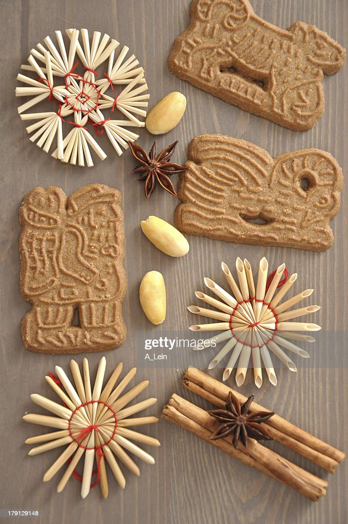 German Spekulatius Cookies For Christmas Stock Photo Getty Images