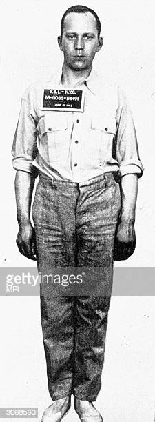 German spy Richard Quirin one of a group German soldiers who came ashore from a submarine off Long Island and Florida he was arrested after one of...