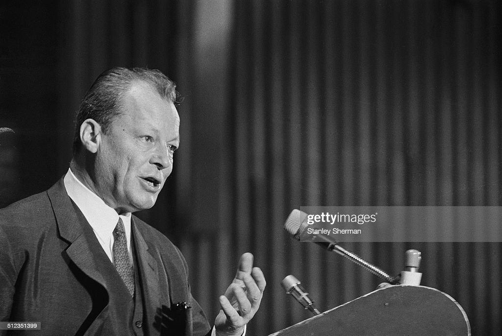 Willy Brandt : News Photo