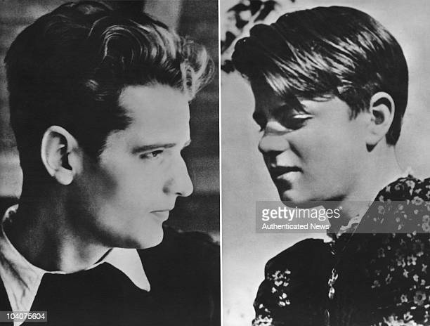 German students Hans Scholl and his sister Sophie circa 1940 Both were members of the nonviolent White Rose resistance group against the Nazis After...