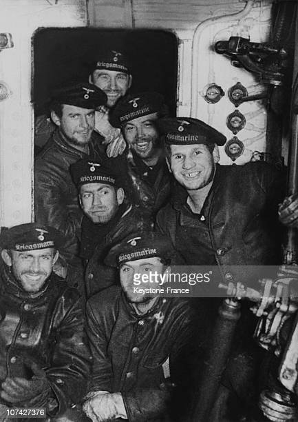 German Submariners Celebrating The 5Th Anniversary Of The Creation Of The U Boat Waffe On September 27Th 1940