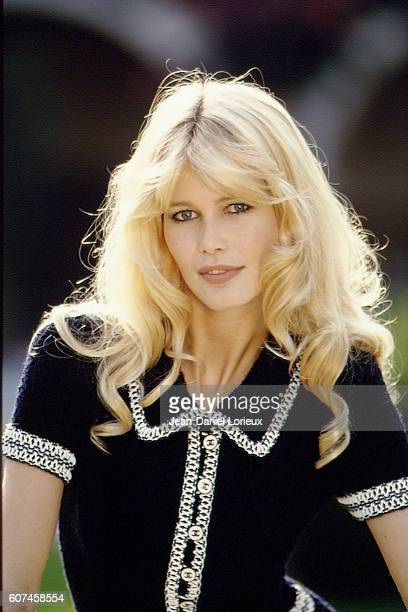 German supermodel and actress Claudia Schiffer during the World Music Awards In Monte Carlo