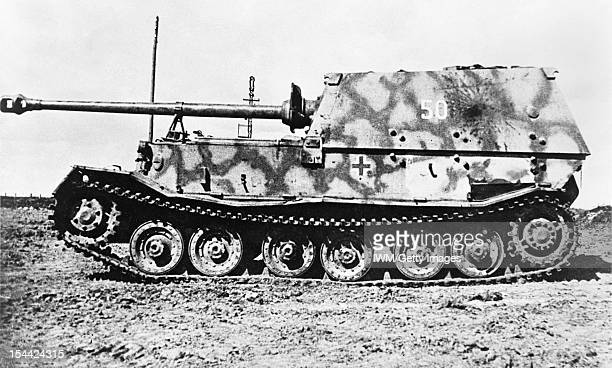 German Tanks And Military Vehicles Of The Second World War, Ferdinand/Elefant, circa 1942.