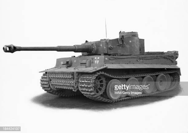 German Tanks And Military Vehicles Of The Second World War Tiger I circa 1942