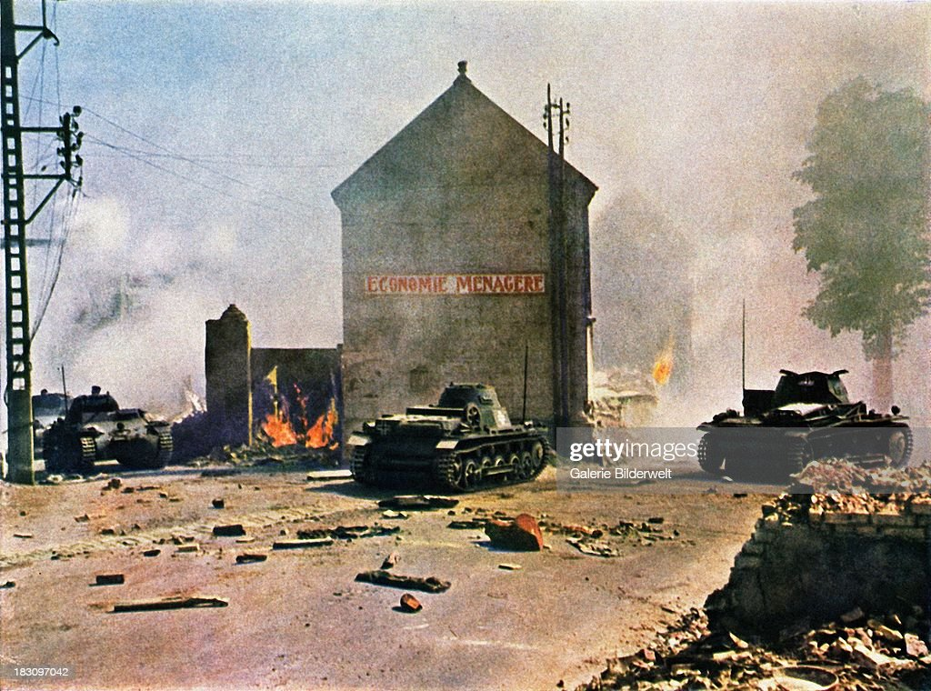 German Tanks In France : News Photo