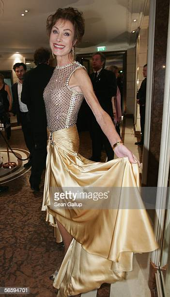 German television hostess Antje Kuehnemann at the 33rd annual German Film Ball at the Bayerische Hof Hotel on January 14 2006 in Munich Germany