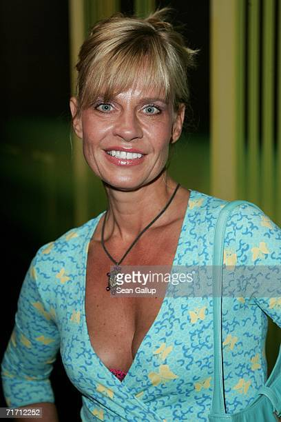 German television hostess Milena Preradovic attends the presentation of the new Volkswagen IROC car study at a promotional event August 24, 2006 in...