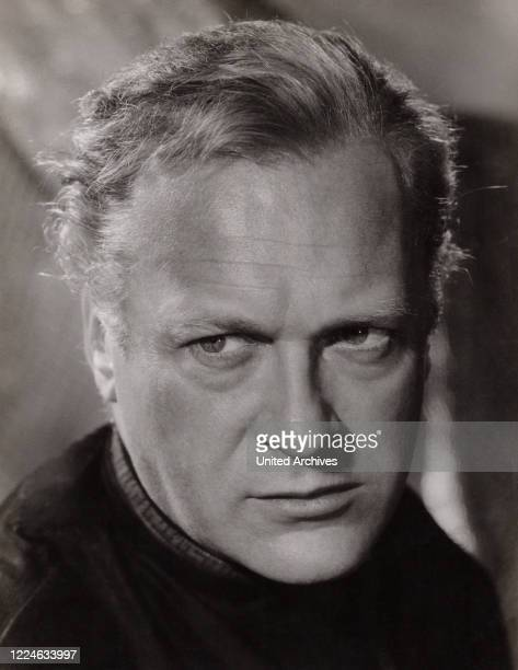 German theatre and movie actor Curd Juergens, Germany, circa 1960. .