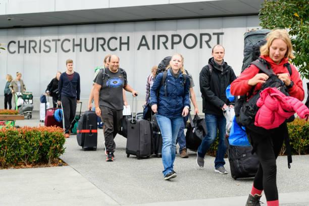 NZL: German Tourists Leave Christchurch On Special Repatriation Charter Flights Amid Coronavirus Lockdown