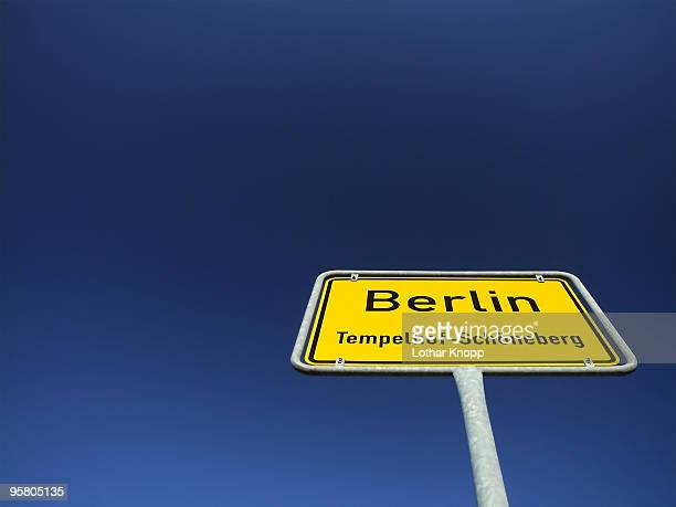 German traffic sign city limits - Ortseingang