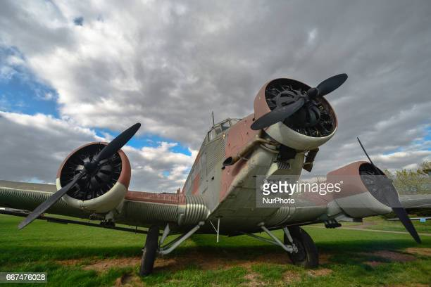 A German transport aircraft Amiot AAC1 Toucan on display in the Polish Aviation Museum in Krakow RakowiceCzyzyny former airport one of the oldest in...