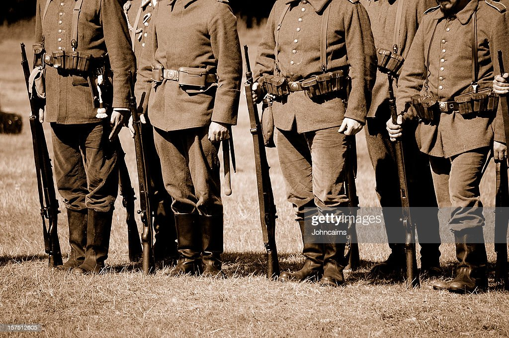 Allemand troupes Première Guerre mondiale. : Photo