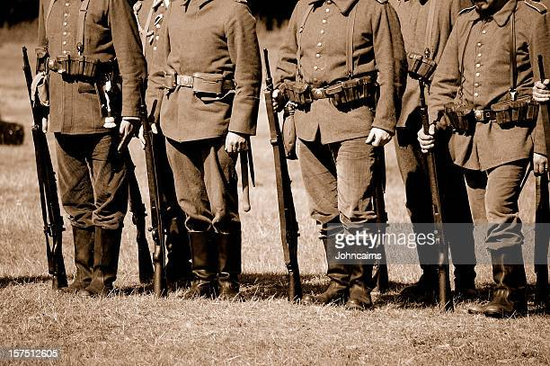 ww1 german troops. - world war i stock pictures, royalty-free photos & images