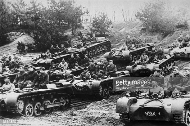 German troops recently moved into the coastal areas of France in preparation for an expected invasion by the Allies.