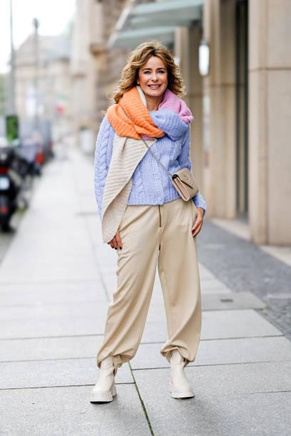DEU: Bettina Cramer Street Style In Berlin