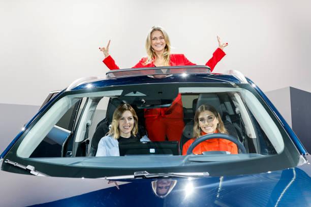 DEU: GWM Presents Premium SUV Brand WEY At IAA Munich