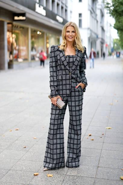 DEU: Tanja Buelter Street Style Shooting In Berlin