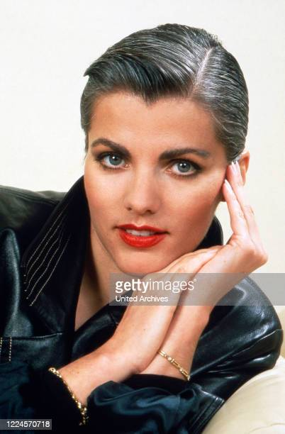 German TV presenter Birgit Schrowange circa 1991