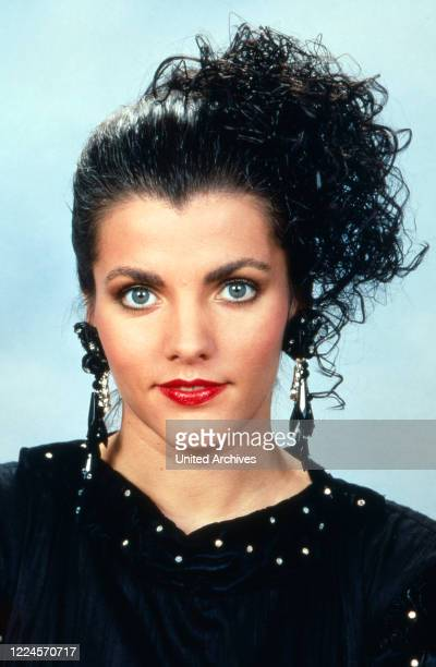 German TV presenter Birgit Schrowange circa 1993