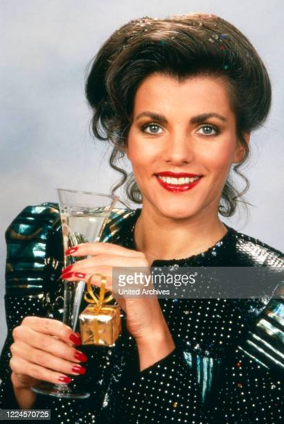 German TV presenter Birgit Schrowange circa 1994