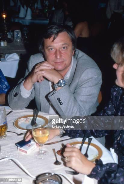 German TV show and movie director Dieter Proettel, Germany, 1970s.