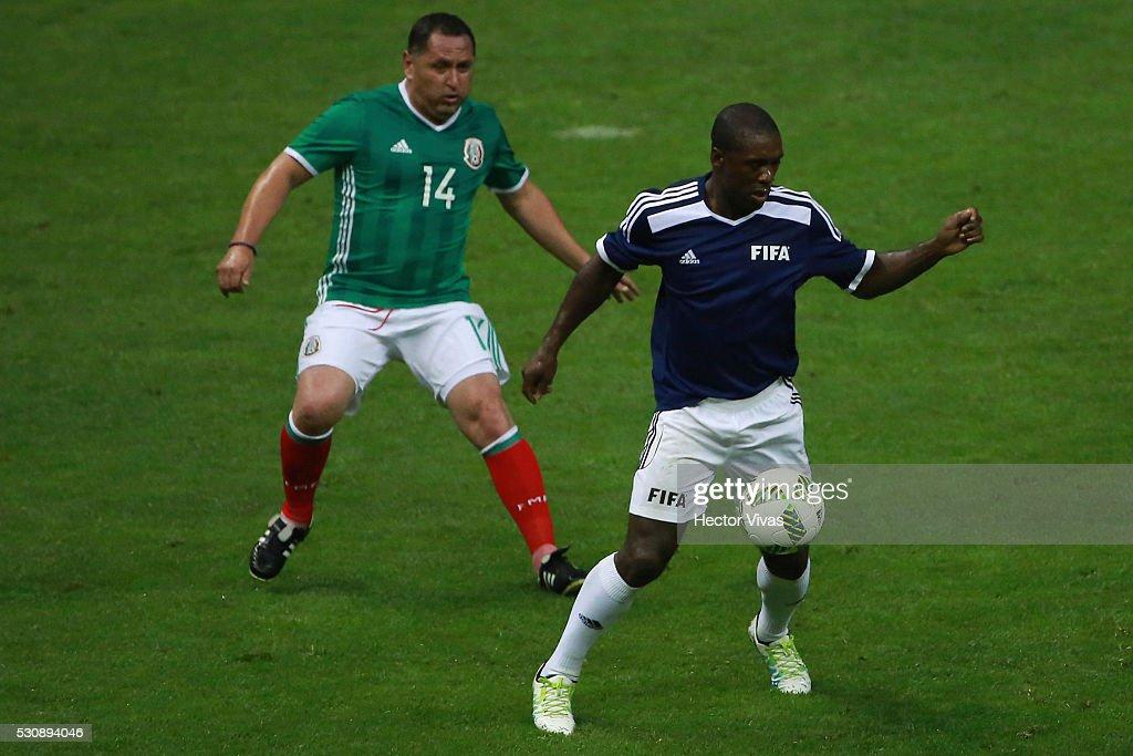 FIFA Football Legends Match : News Photo