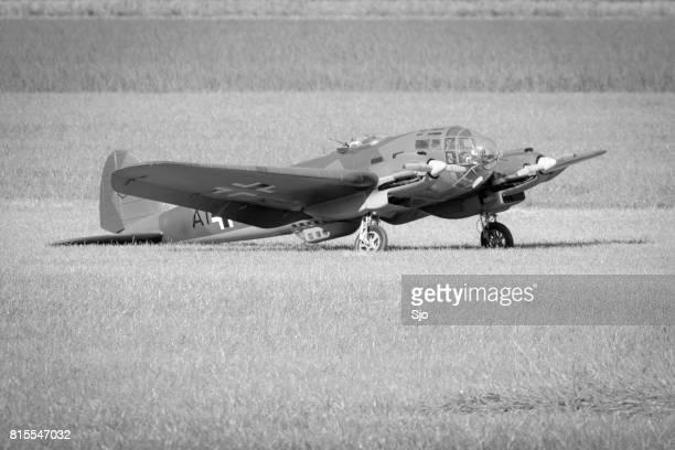 Deutsch 2. Weltkrieg Modellflugzeug in Dünkirchen Film verwendet
