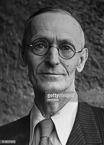 German writer and Nobel Prize winner Hermann Hesse.