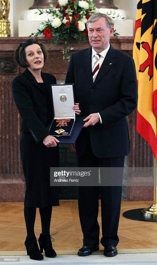 Bellevue Reception In Honor Of Literature Nobel Prize Winner Herta Mueller