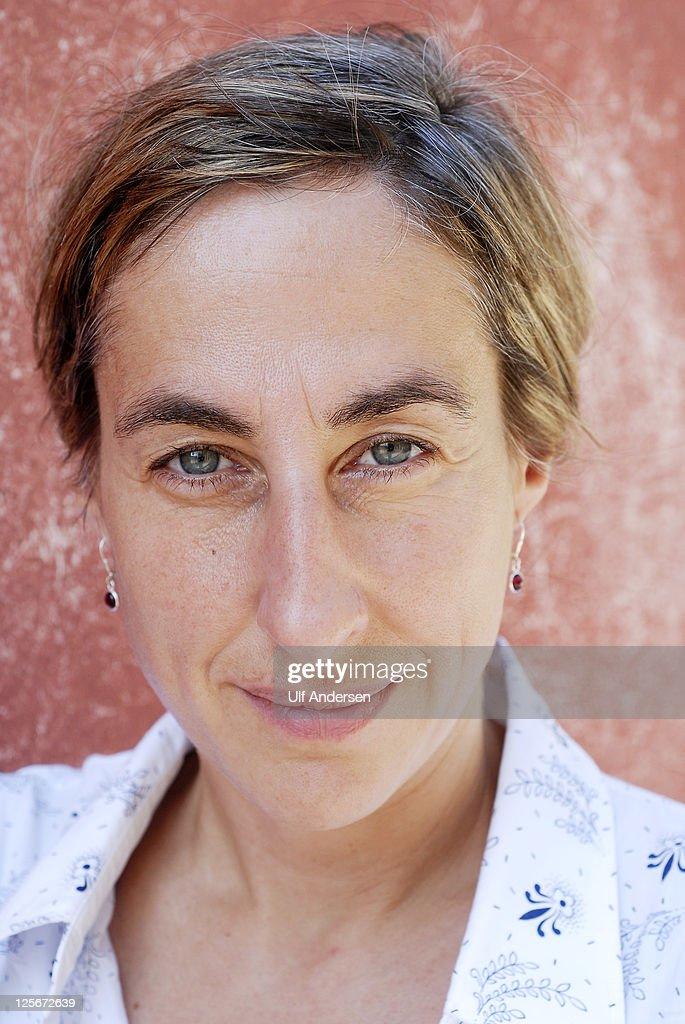 PROVENCE, FRANCE - SEPTEMBER 10. German writer Judith Hermann poses during portrait session held on September 10, 2011 in Aix en Provence, France.