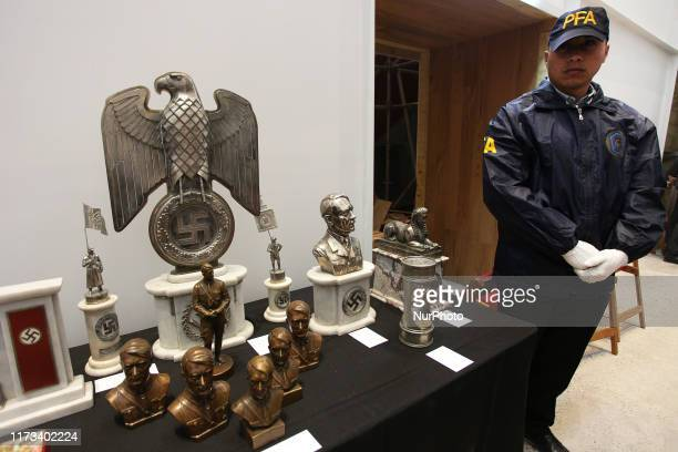 German WWII objects seized in Buenos Aires Argentina on 2nd October 2019 The collection will be part of the Holocaust Museum