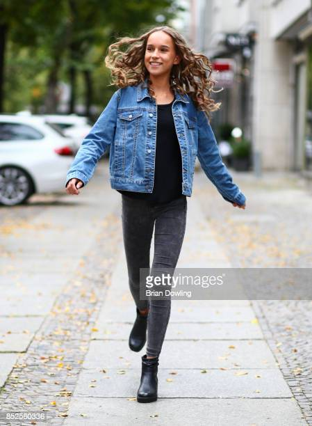 German Youtuber Nona Kanal attends the Influencer event 'Create Your New Look' hosted by Udo Walz on September 23 2017 at the Udo Walz Salon in...