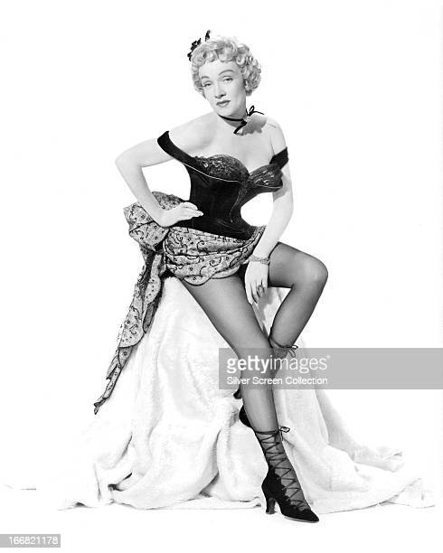 GermanAmerican actress Marlene Dietrich as Altar Keane in 'Rancho Notorious' directed by Fritz Lang 1952