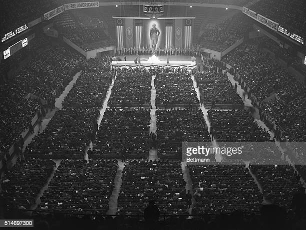 GermanAmerican Bund Rally The US Nazi Party in New York