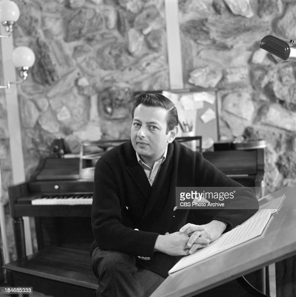 GermanAmerican pianist Andre Previn on THE TWENTIETH CENTURY Episode called The Songs of Harold Arlen Image dated November 27 1963