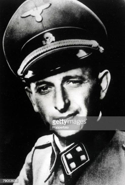 Austrian Nazi War criminal Adolf Eichmann Born in Solingen and a fanatical antiSemite he became a member of the SS and organised antiJewish activities