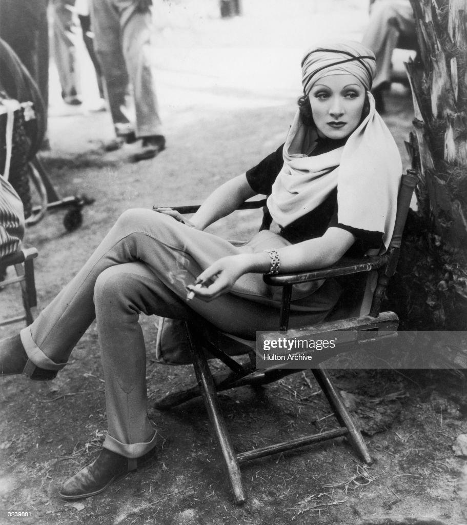 Marlene Dietrich : News Photo