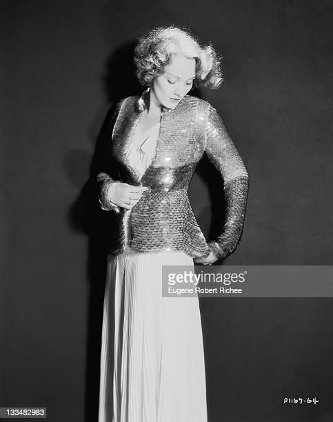 German-born actress Marlene Dietrich , 1931.