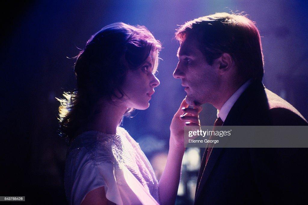 German Born Actress Nastassja Kinski And French Actor