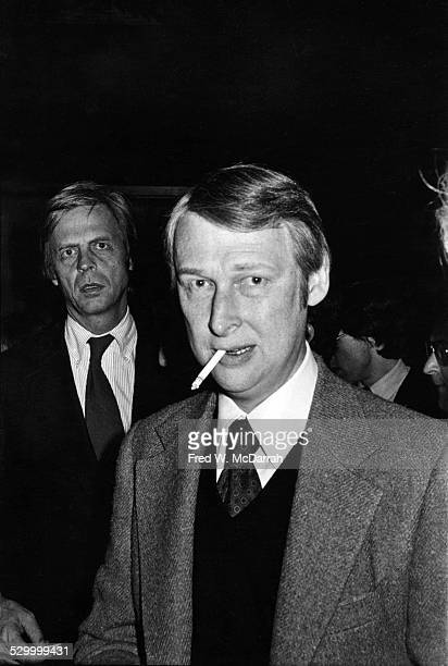 German-born American film and theatre director Mike Nichols attends an Amnesty International fundraising party, New York, New York, November 20,...