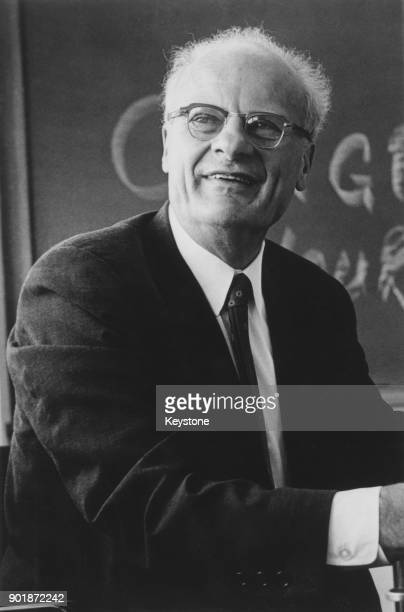 Germanborn American nuclear physicist Hans Albrecht Bethe Professor of Physics at Cornell University after being awarded the 1967 Nobel Prize in...