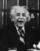 Germanborn american physicist albert einstein laughs at a luncheon picture id3232817?s=170x170