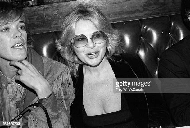 Germanborn American talent agent Sue Mengers at an unidentified restaurant for a 'Kon Tiki' event New York New York November 8 1980