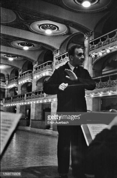 German-born conductor, pianist and composer Bruno Walter , circa 1935.