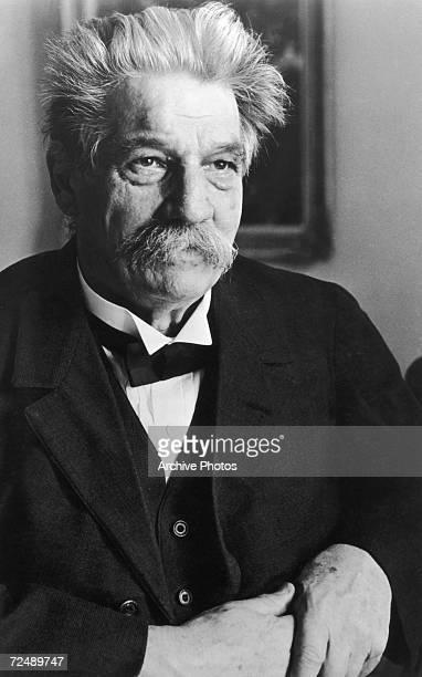Germanborn doctor philosopher and humanitarian Albert Schweitzer circa 1950