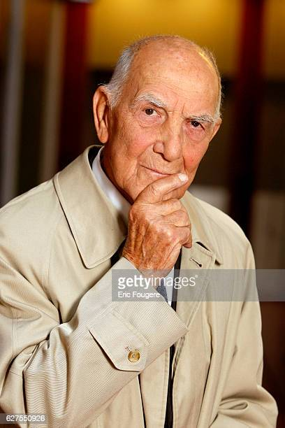 Germanborn former French ambassador Stephane Hessel Photographed in PARIS